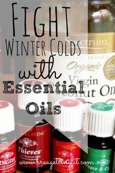 fight winter colds with essential oils