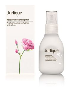 Rosewater Balancing Mist by Jurlique... Heaven if you keep it in the fridge and spritz your face in the morning. So refreshing!