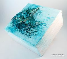 Terhi Koskinen: Guest Designer for Artists Live Ustream Show | Mixed Media Box | Video