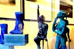 La escultura tambien forma parte de la Sala de Arte