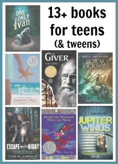13+ Books for Teens (and tweens) | A list of recent recommendations for age appropriate books that aren't dumbed down.