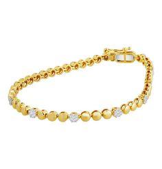 Moncara Diamant Armband Gold 585 Gelbgold