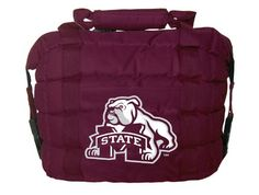 Cool! :)) Pin This & Follow Us! zCamping.com is your Camping Product Gallery ;) CLICK IMAGE TWICE for Pricing and Info :) SEE A LARGER SELECTION of camping coolers at   -  #hunting #campingaccessories #camping #insulatedbags #coolers #campinggear #campsupplies -  Rivalry NCAA Mississippi State Bulldogs Cooler Bag « zCamping.com