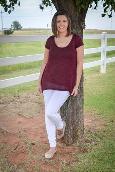 Merlot Fit and Flare