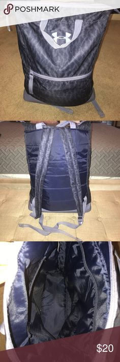 Under Armour Backpack Gently Used Under Armour Backpack also can be carried as a bag with the two carrying straps. Under Armour Bags Backpacks