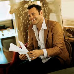 Vince Vaughn - Love his comedy movies