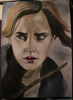 My drawing of Hermine Granger :) from Harry Potter, hope you like it!  You can find me on facebook: www.facebook.com/... I would be so thankful when you visit my page ♥