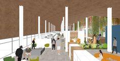 Coliving: Arca de NOE - Nuevas maneras de habitar. on Behance Behance, Candles, Architecture, Illustration, Home, Buildings, Arquitetura, Ad Home, Candy