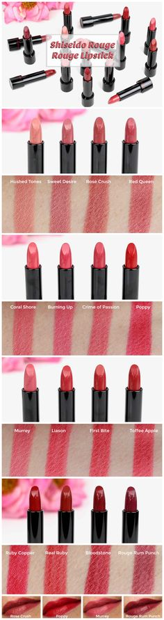 Shiseido Rouge Rouge Lipstick Review - Perilously Pale