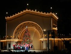 "The Stage Is Set!  ""December Nights"" is coming to Balboa Park on the 6th & 7th of December.  Balboa Park December Nights is the largest free community festival in San Diego, attracting more than 350,000 visitors over two days. In the spirit of the holidays, participating Balboa Park museums open their doors free of charge from 5-9pm both evenings."