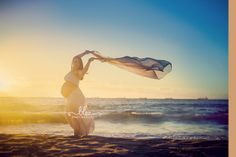 Beach sunset maternity pregnancy photos Perth | Elyce perth lifestyle photography Perth Photography