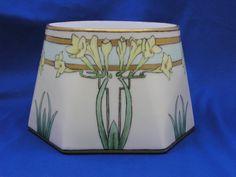 Rosenthal Bavaria Arts & Crafts Freesias Motif Vase (c.1907-1930)