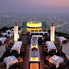 World's Hottest Rooftop Restaurants- Page 6 - Articles | Travel + Leisure *London, New York, San Diego, Chicago, Atlanta