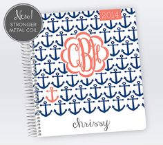 2014 Teacher Planner by PlumPaperDesigns on Etsy, $16.00 @Felicia Ramirez-Bush Isn't this planner perfect? SOLD!!
