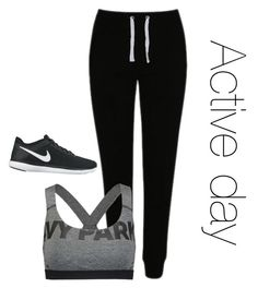 """""""Untitled #29"""" by idiot7503 on Polyvore featuring George, Ivy Park and NIKE"""