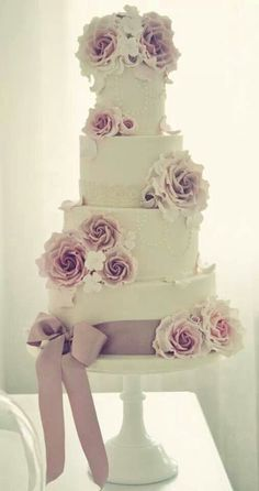 I would love to make this cake Tall Wedding Cakes 537ef7148749