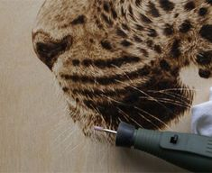 Craft Stick Crafts, Wood Crafts, Wood Burning Techniques, Wood Burn Designs, Driftwood Jewelry, Leopards, Pyrography, Wood Art, Woodworking