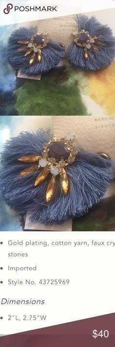 Anthroplogie Prunella Fan Drop Earrings Anthroplogie Prunella Fan Drop Earrings Anthropologie Jewelry Earrings