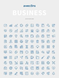 Awecons is a highly rated and useful set of icons for any design project. Vector icons designed for many situations based on real projects. Easy to edit and customize! Be Awesome, buy Awecons! One New Category Each Month! Business Stories, Business Icon, Business Design, Icon Design, Web Design, Information Art, Doodle Icon, Ios Icon, Vector Icons
