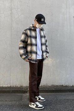 Indie Fashion Men, Fashion Mode, Look Fashion, Streetwear Fashion, Retro Outfits, Cool Outfits, Vintage Outfits, Casual Outfits, Street Style Outfits Men