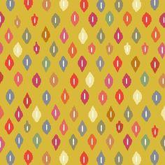sunny little ikat diamonds fabric by scrummy on Spoonflower - custom fabric