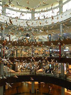 United Arab Emirates-Dubai-The Dubai Mall -world's greatest shopping mall-Star Atrium