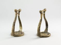 French Pair of Stirrups, c. 1800