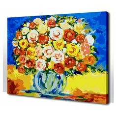 Flowers Paint by Number Kit KL7036