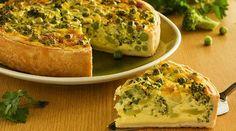Torta integral de brócolis, venham aprender!                                                                                                                                                                                 Mais