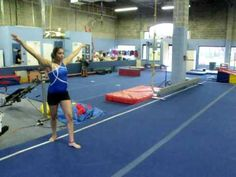 ▶ Level 3 Gymnastics Floor Routine - YouTube  I remember doing this routine 7 years ago