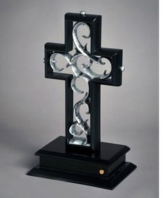 ENTER TO WIN this new ceremony alternative, The Unity Cross! A unique wedding idea  for your ceremony. This beautiful cross sculpture is assembled together  during the wedding ceremony, symbolizing the uniting of two as one. The Unity Cross is a grea