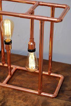 GAM Copper Lamp __ Lampe en cuivre GAM