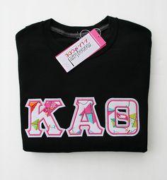 kappa alpha theta sorority letter sweatshirt monogramalamodeshop sorority sweatshirt