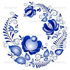 Adoro a decoração em azul!