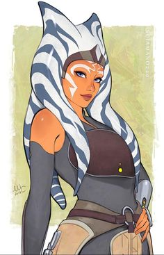 How I wish Disney hadn't killed Clone Wars, that show was too good for this world. Star Wars Characters Pictures, Star Wars Pictures, Star Wars Images, Star Wars Rebels Characters, Star Wars Fan Art, Star Wars Clone Wars, Star Wars Rpg, Star Trek, Asoka Tano