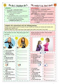 Agreeing-Disagreeing worksheet - Free ESL printable worksheets made by teachers