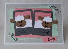 Moostly Cards & Crochet: Serie #41 Schaapjes