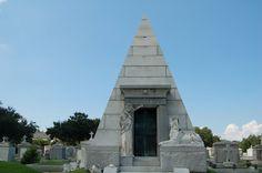 Brunswig Pyramid Tomb - New Orleans, LA