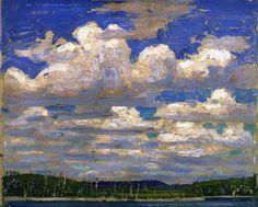 ALONGTIMEALONE: bofransson: Summer Day Tom Thomson - 1915: