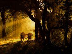 Сказочные рисунки Jeremiah Morelli