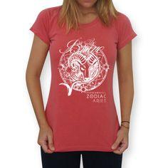 Áries   The Brave  #tees #t-shirt #astrology #astrologia #zodiac #zodíaco #sky #céu #art #áries #aries