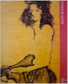 1989 Egon Schiele American Exhibition Poster on Chairish.com