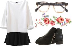 """""""i only think of you"""" by elenadslva ❤ liked on Polyvore"""