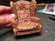 Кукольный миниатюрный мебель - учебники   1 дюйм минис