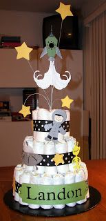 82 best space baby shower images in 2016 Baby Shower Images, Boy Baby Shower Themes, Baby Shower Cupcakes, Baby Boy Shower, Diaper Cake Boy, Baby Boy Cakes, Nappy Cakes, Work Baby Showers, Space Baby Shower