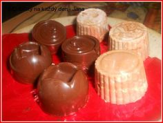 Domácí  čokoládové bonbóny