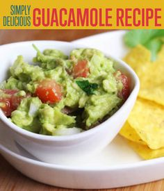 The best guacamole recipe is the easiest to prepare. This tutorial ...