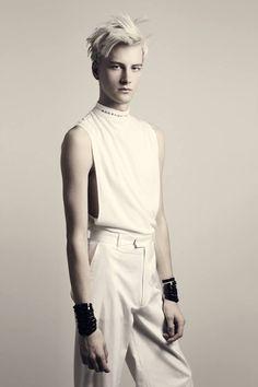 Benjamin Jarvis for Christian Dada Spring/Summer 2014 Lookbook Source: Fashionsnap