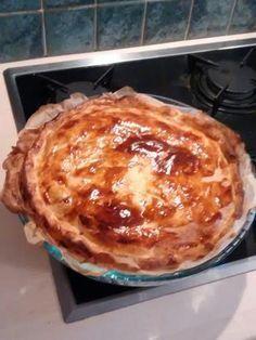 poivre, oeuf, crême fraîche, pomme de terre, pâte feuilletée, oignon, jambon, sel