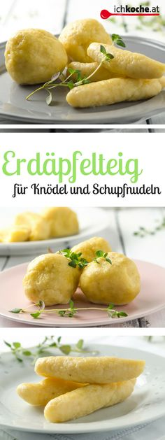 Erdäpfelteig - so gut, so vielseitig! Tortellini, Austrian Recipes, Recipes From Heaven, Mediterranean Recipes, Shrimp Recipes, Bread Baking, Soul Food, Hot Dog Buns, Veggies